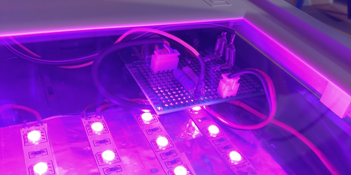 PCP UV Exposure Box - Hardware Design